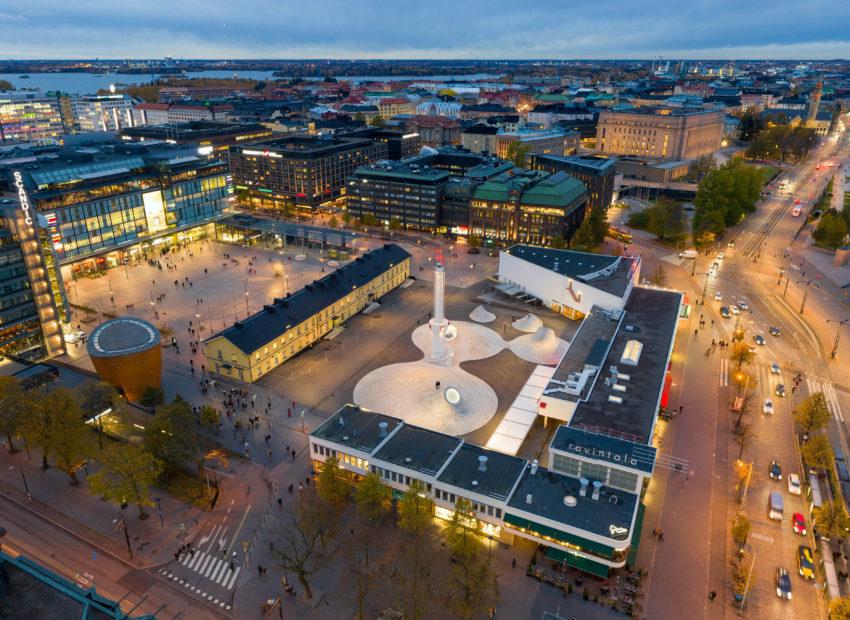 NoHo Partners vastaamaan Helsingin Narinkkatorin uuden elokuva- ja ravintolakeskittymän ravintolapalveluista